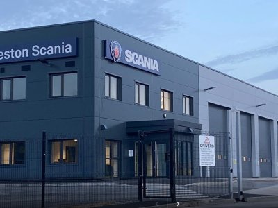 £2.7m investment sees Haydock Commercial Vehicles Ltd open new Preston Scania service centre