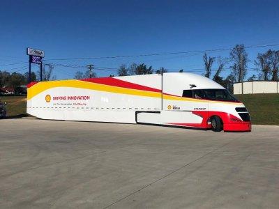 Camionul Starship de la Shell iese din nou pe drum