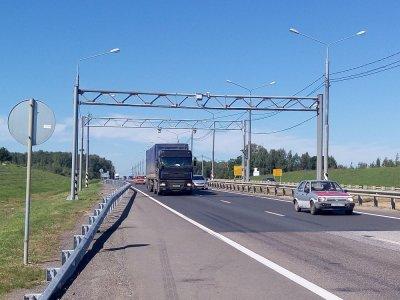 Разработаны правила движения грузовых автомобилей в зоне автоматического весогабаритного контроля
