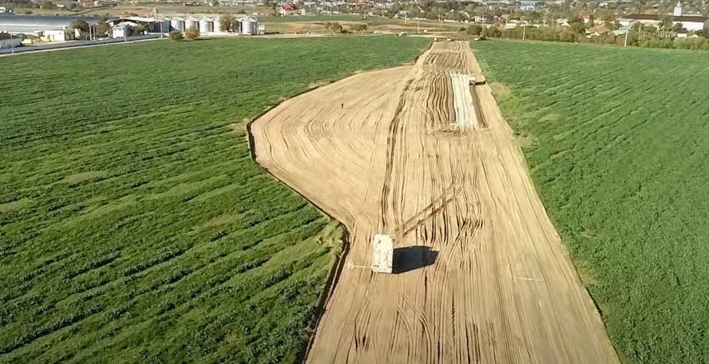 Infrastructură   Vă prezentăm în premieră o filmare de pe șantierul centurii Bârlad