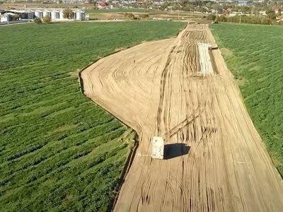 Infrastructură | Vă prezentăm în premieră o filmare de pe șantierul centurii Bârlad