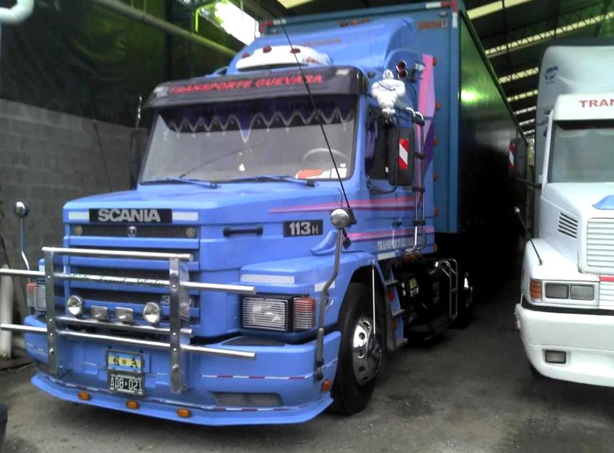 ciężarówka Maradony