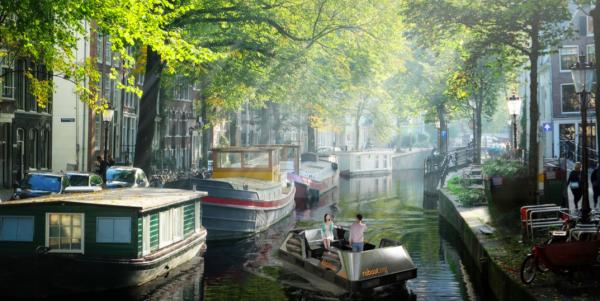 """Autonomiczny """"Roboat"""" będzie dostarczał przesyłki w Amsterdamie. Testy ruszą lada moment"""