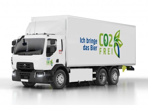 Renault Trucks und Carlsberg Group gemeinsam für einen klimaneutralen Transport