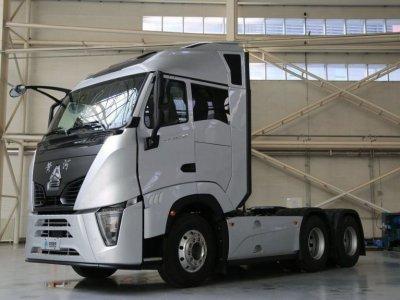Аэродинамичный» тягач из Китая. Очередной прорыв в разработке коммерческого транспорта