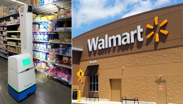 Report: Walmart abandons plans for shelf-scanning robots