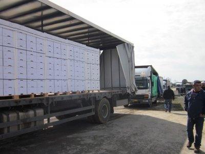 Смелое ограбление грузовика. Пропал груз стоимостью более 5 миллионов фунтов стерлингов!