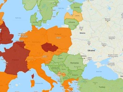 Ghid privind restricțiile Covid-19 aplicabile în Europa (actualizare 17.11.2020)