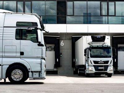 Pakrovimo metu sunkvežimio vairuotojas turi likti kabinoje. Nauja vieno regiono su COVID-19 susijusi gairė