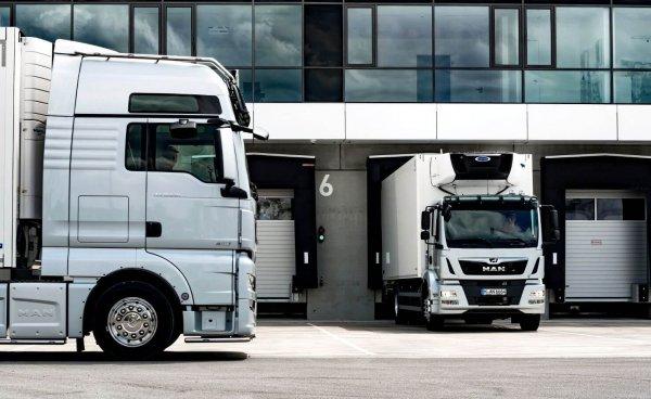 Pakrovimo metu sunkvežimio vairuotojas turi likti kabinoje. Nauja vieno regiono su COVID-19 susijusi