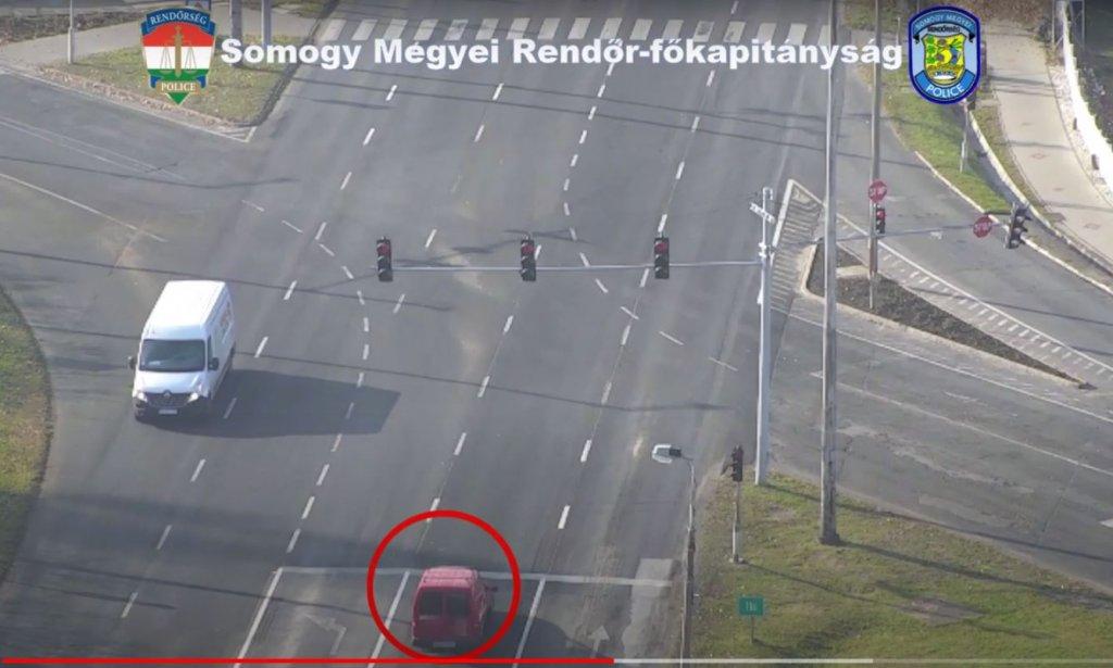 Drónnal és jelöletlen személyautókkal figyelték a forgalmat a rendőrök Somogyban