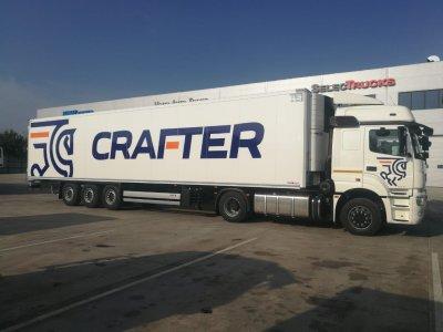 Группа компаний «Crafter» расширила свой автопарк на 153 тягача КАМАЗ NEO-5490, 83 рефрижератора и 70 полуприцепов