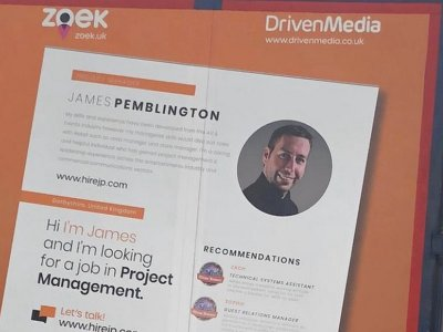 Redundant events manager nets job after advertising CV on a lorry