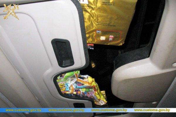 Konfiskata ciężarówki… przez słodycze i kawę