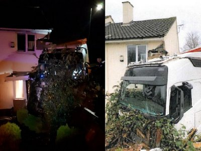 Lorry driver who ignored rest period rules crashes into house in Essex