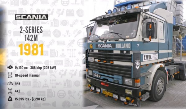 Scania fan? If so, watch this video covering 130 years of vehicle evolution