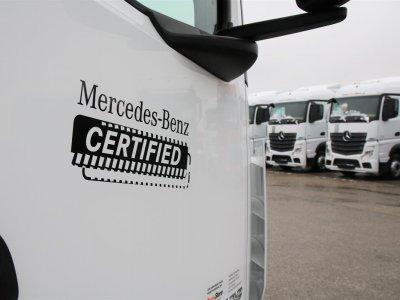 Mercedes-Benz LKW führt neues Label für gebrauchte Trucks ein