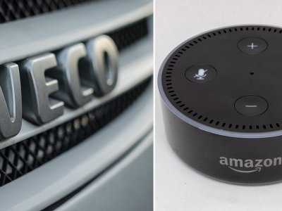 Iveco to launch new 'driver companion' system using Amazon's Alexa
