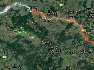 Pe Autostrada Transilvania, între Cluj Napoca și Oradea, nu sunt deblocări semnificative