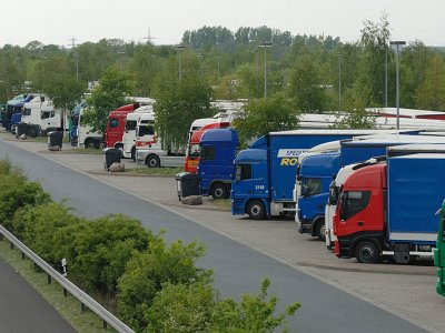 Germany to build 4,000 new lorry parking spaces by 2024