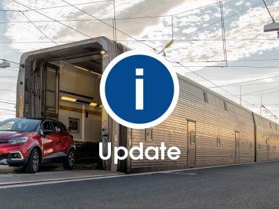 Număr redus de trenuri în Eurotunnel în intervalul 4-7 decembrie; iată noul orar