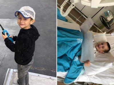 Sześcioletniego fana ciężarówek czeka operacja serca. Tysiące truckerów okazało mu wsparcie