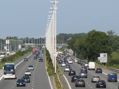 Roadworks to close section of E40 near Brussels for 3 nights