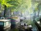 """Egy autonóm robot hajó, a """"roboat"""" fog csomagokat kézbesíteni Amszterdamban"""
