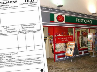UK Post Office: customs declarations now required for EU-bound parcels