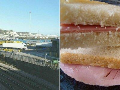 Absurditäten des Brexit: Lkw-Fahrer müssen auf Schinken-Käse-Sandwich verzichten