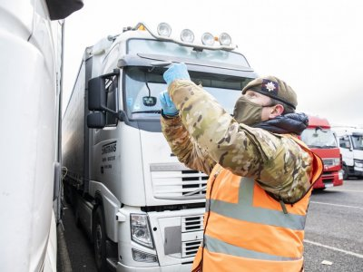 Manston Lorry Park empty following 6 days of severe disruption