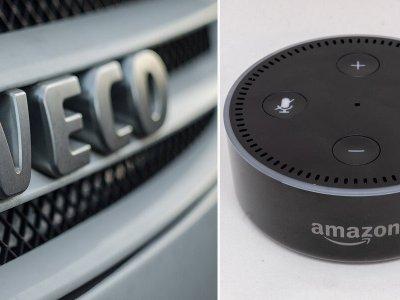 """Az Iveco új """"vezetőtárs""""-rendszert dob piacra az Amazon Alexa segítségével"""