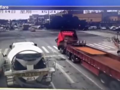 Przerażający film pokazuje co się stanie, gdy brak odpowiedniego zabezpieczenia ładunku