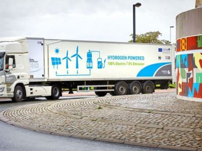 Belgian family-owned company first to test 44-tonne hydrogen trucks in Europe
