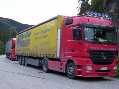 Norway: new legislation to allow foreign trucks to be held back until tolls are paid