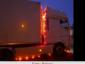 Świąteczne lampki w ciężarówce? W Niemczech są zabronione. Drogówka już poluje na trucki z niestandardowym oświetleniem