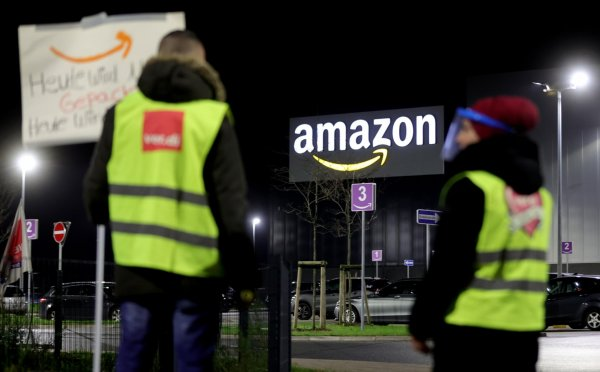 International Transport Workers Federation demands better conditions for Amazon drivers