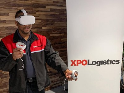 Use of VR in van-driver training increases productivity and decrease errors in loading, say XPO