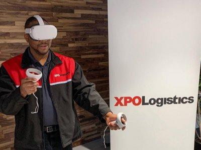 XPO schult Kleinbusfahrer mit der Virtual-Reality-Technologie. Welche Vorteile bringt diese Lösung mit sich?