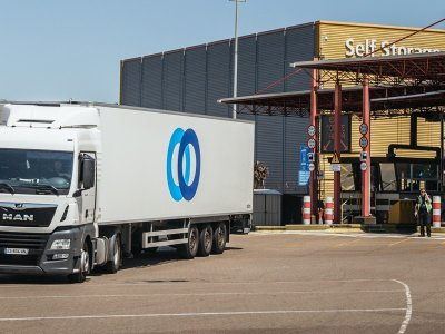 "Lorry park serving Portsmouth Port ""working well"""