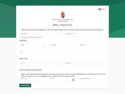 Elérhető a BIREG – regisztráljon még a héten, hogy elkerülje a bírságot!