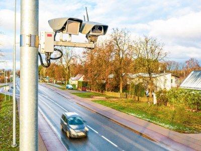 Lietuvos keliuose įrengta 70 naujos kartos momentinių greičio matuoklių