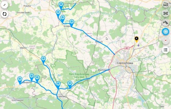 Zima w Polsce. Sprawdź, czy na drodze, którą planujesz jechać, są trudne warunki