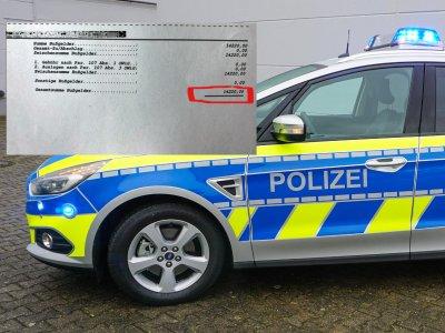 Штраф для водителя – более 14 тыс. евро. Как выяснилось – он сам был виноват