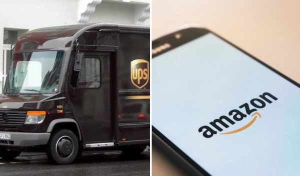 UPS temporarily suspend Amazon small parcel deliveries between EU and UK