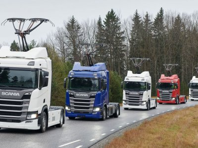 More Scania trucks with pantographs coming to Germany's eHighway