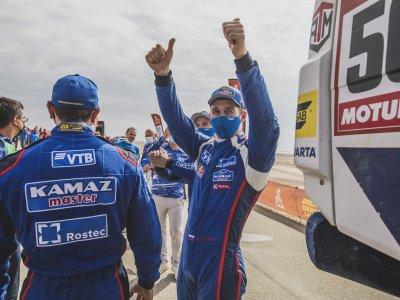 3 Kamaz nyert a Dakar-rali kamion kategóriájában!