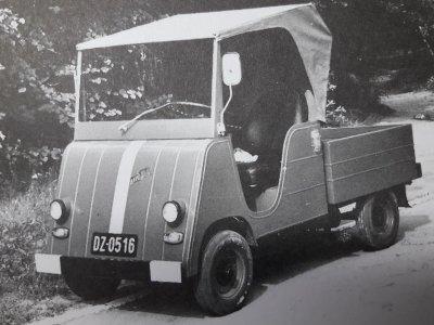 Niezwykłe znalezisko z internetowej aukcji. Na takich pojazdach ćwiczyli żołnierze, zanim mogli przesiąść się do normalnych ciężarówek