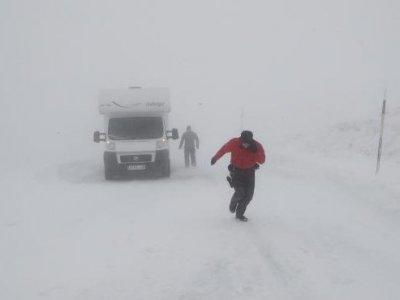 Spania | Traficul se desfășoară în condiții dificile din cauza condițiilor meteo; drumuri închise pentru camioane