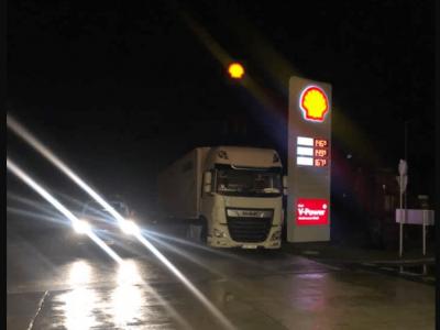 Így kell bánni az osztrák rendőrökkel? A belorusz kamionos 800 euróról 150-re zsarolta-alkudozta a bírságát